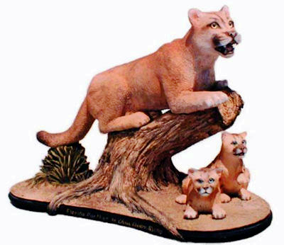 5.1 Florida panther  sculpture