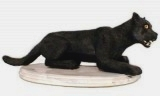 Black Panther Sculpture, animals, cats, sculpture, statue, art