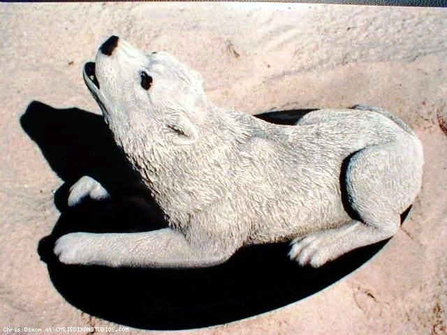 Wolves statues and sculptures custom art artist