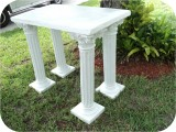 Column-Corinthian-38in-TABLE-72, Column Corinthian 38In Table 73 in. , architectural, , sculpture, statue, art