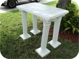 Column Corinthian 38In Table 73 in. , architectural, , sculpture, statue, art