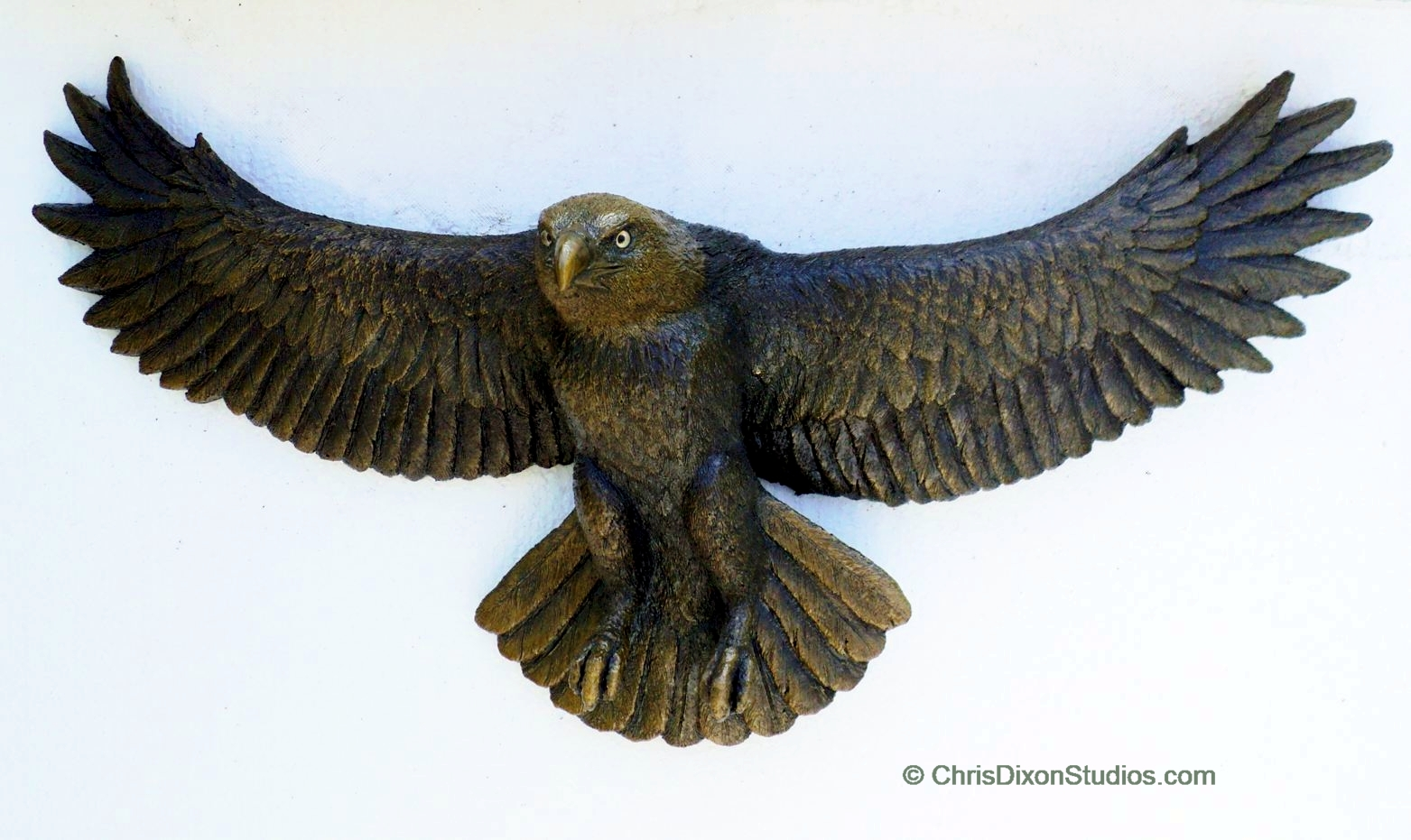 Eagle statues and sculptures custom art artist