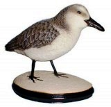 Sanderling SANDPIPER, birds, bird, sculpture, statue, art