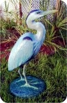 Heron 44 in. , birds, herons, sculpture, statue, art