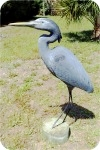 Heron-Statue-4-ft14, Heron Statue 44in, Approx 4 ft. Original Artwork, birds, herons, sculpture, statue, art