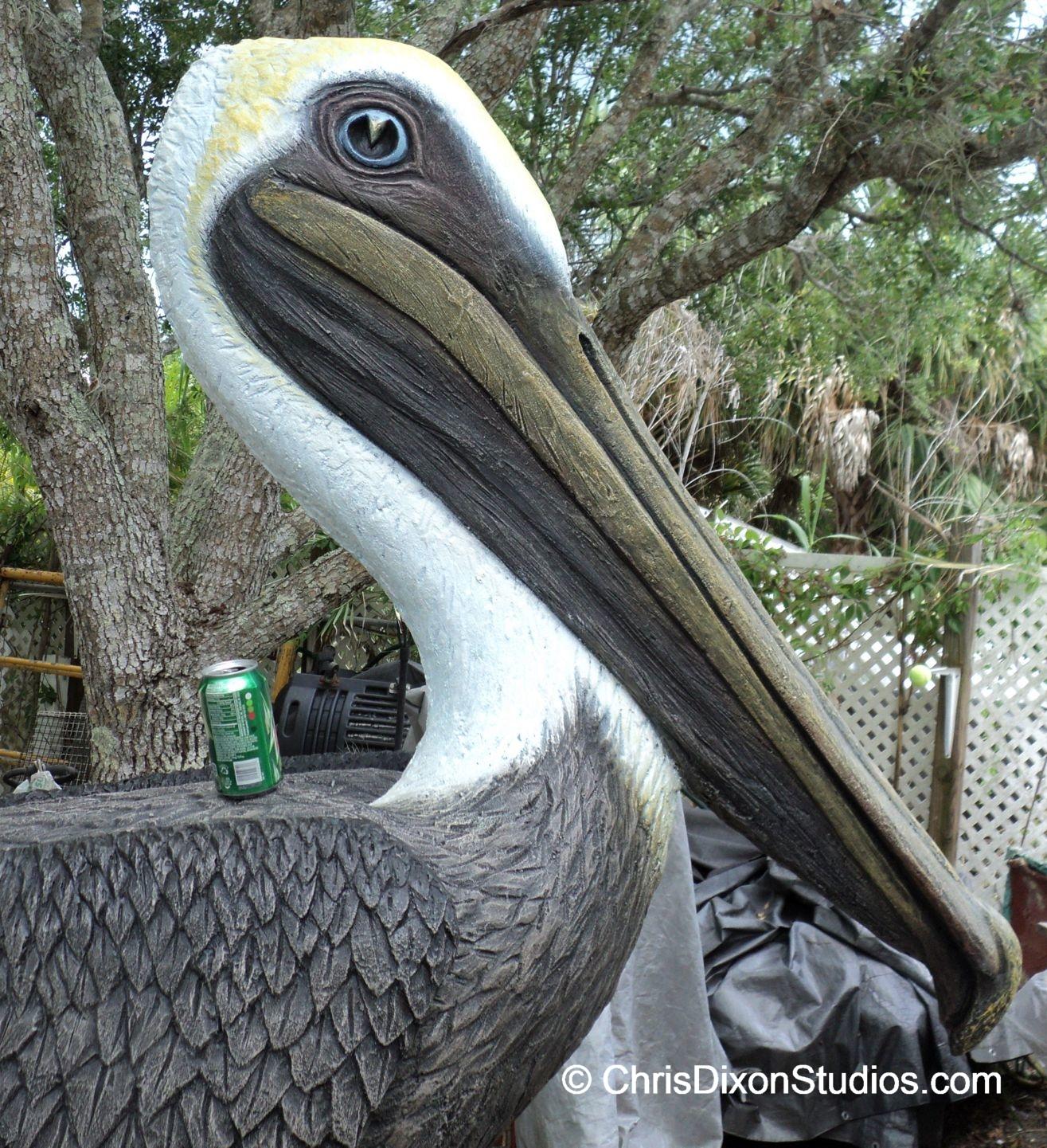 Pelican Statues And Sculptures Custom Art And Artist