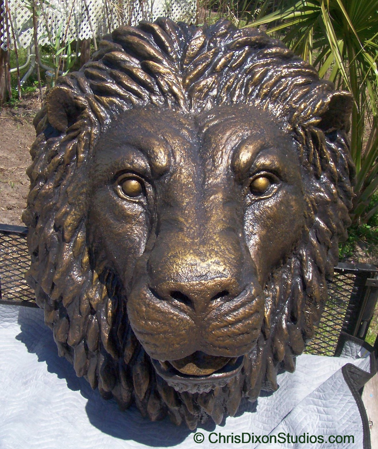 Custom architectural ornaments and foam carved statues