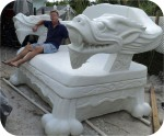 Buddha-10ft-finished-02, Buddha Dragon Chair 10Ft. , foam-sculpture-carvings, monumental-sculptures, sculpture, statue, art