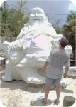 Buddha-10ft-finished-10, Buddha Dragon Chair 10Ft. , foam-sculpture-carvings, monumental-sculptures, sculpture, statue, art