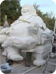Buddha-10ft-finished-40, Buddha Dragon Chair 10Ft. , foam-sculpture-carvings, monumental-sculptures, sculpture, statue, art