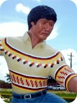 big-wrestler-gator_2079, Miccosukee Alligator Wrestler, foam-sculpture-carvings, monumental-sculptures, sculpture, statue, art