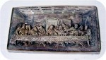 The Last Supper 24X12 in. , religious, christian, sculpture, statue, art