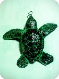 Sea Turtle Hatchling Jewelry 3 in. , reptiles, turtles, sculpture, statue, art