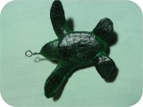 Sea-Turtle-Jewelry-1bottom, Sea Turtle Hatchling Jewelry 3 in. , reptiles, turtles, sculpture, statue, art