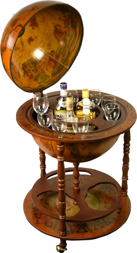antique globe drinks cabinet 2