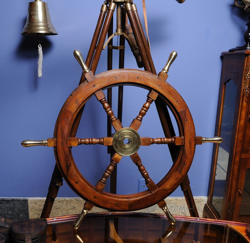 Nautical Wheel Decor: Nautical-Decor