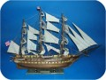 USS Constitution Non Painted