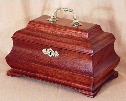 Bombay Tea Caddy and Jewelry Chest