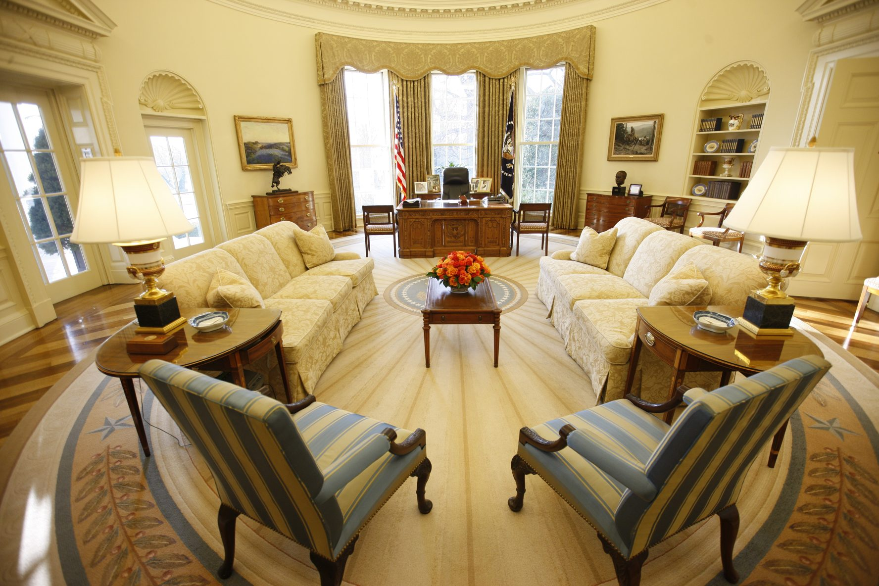 bush oval office. Porcelain/index.jpg Bush Oval Office W