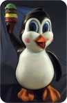 Ice Cream Penguin, 40 in. NC, USA made in USA