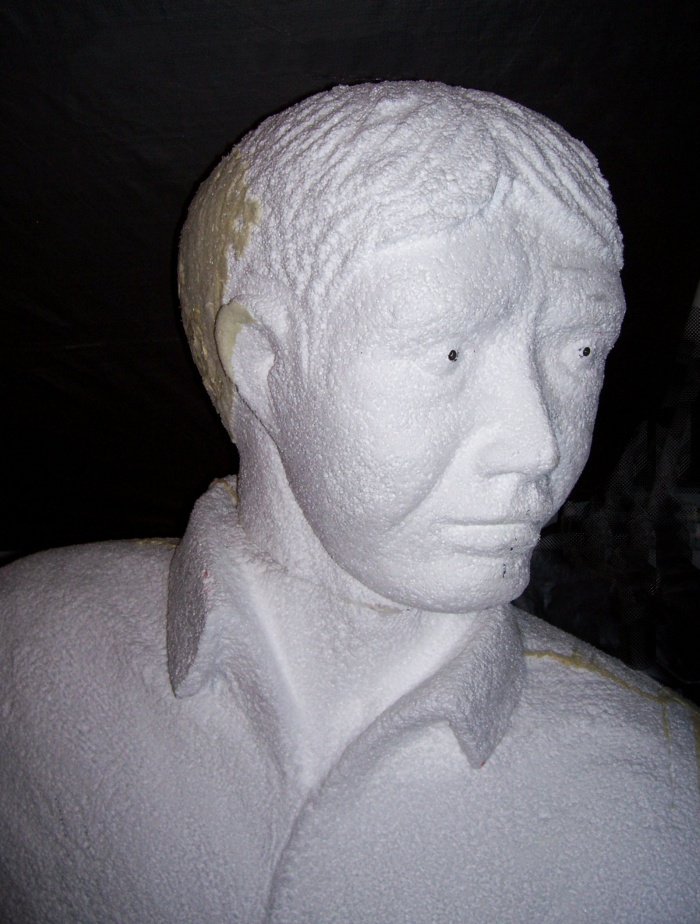 Foam carving