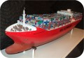 Container-Ship-APS14, Container Ship 37 in. , models, container-ship, sculpture, statue, art