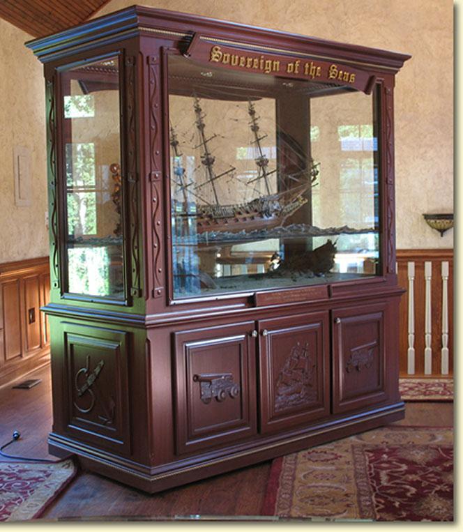 Tallship - Custom display cabinets ...