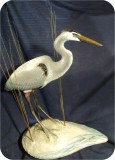 Egrets, Herons, crane Bird sculpture Gallery. made in USA